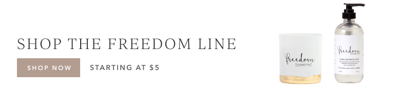 Support human trafficking survivors | Shop the Freedom line at Freedom Studios